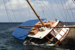 Sinking Schooner